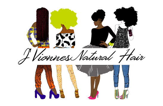 J'Vionnes Natural Hair logo